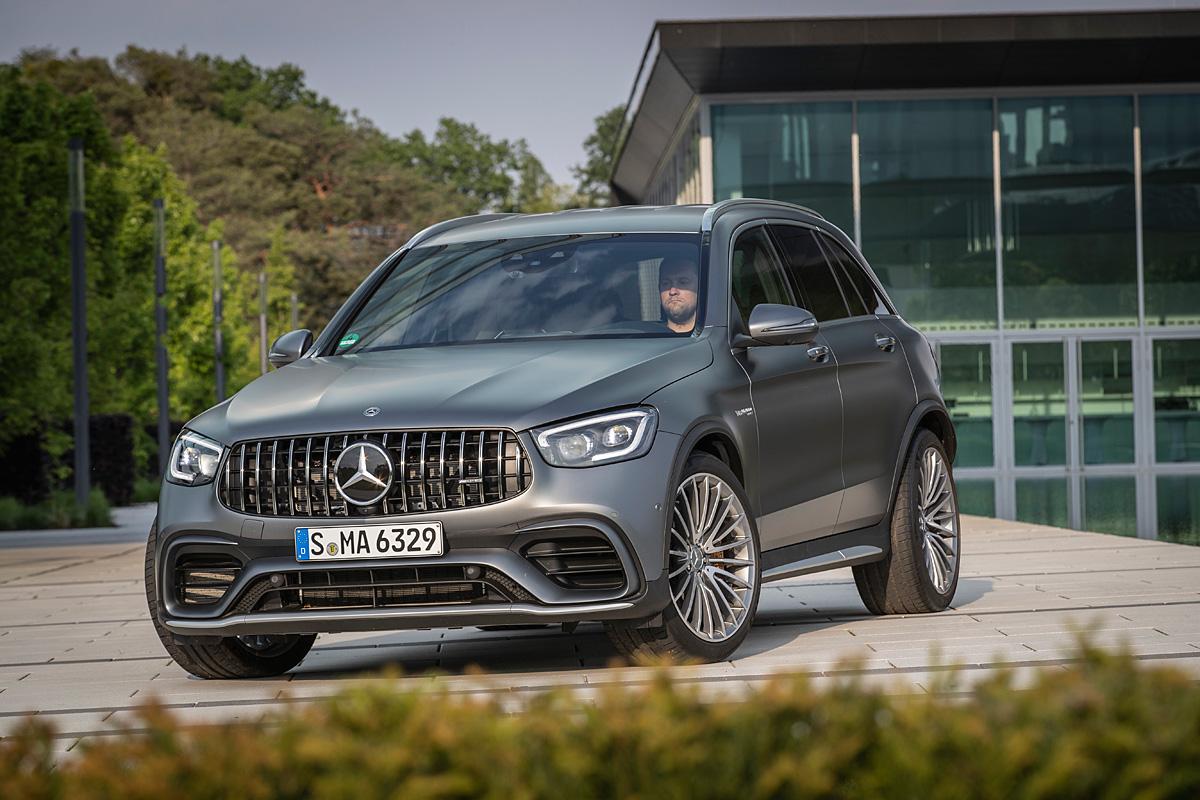 Mercedes Benz Glc Suv Und Coupe Erhalten Update Stadtlandzeitung